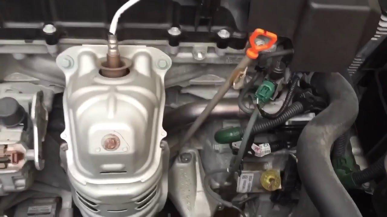 2013  2017 Accord 4Cyl CVT Transmission Fluid Change