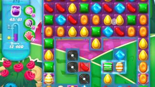 Candy Crush Soda Saga Level 878 No Boosters 1 star HARDCORE DIFFICULTY 175 TRIES !
