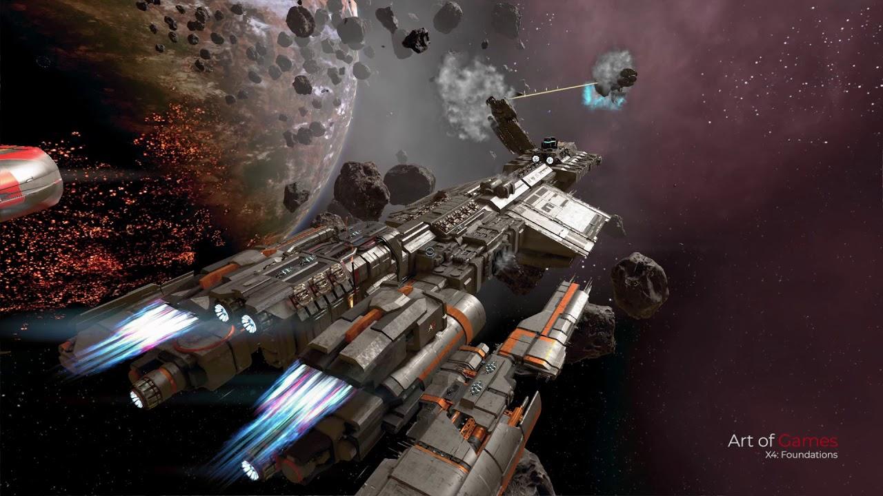 X4: Foundations 2 0 - Bayamon 100 Carrier - Battleship mod