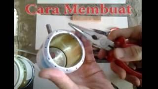 Cara membuat | kopmor bensin lebih hemat | kaleng bekas | bisa pertamax, pertalite