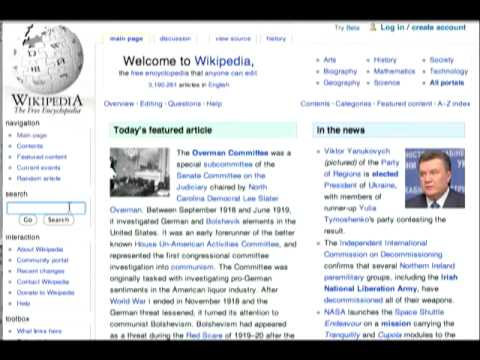 Wikipedia for Beginners