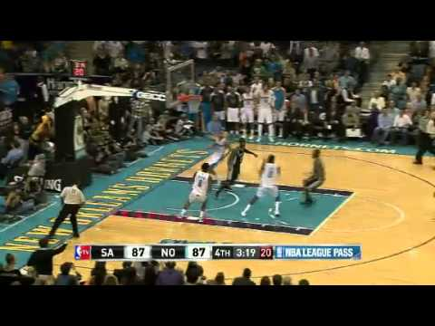 Aminu Dominates on Both Ends | San Antonio Spurs Vs Hornets | 10/31/2012 | NBA Season 2012-13