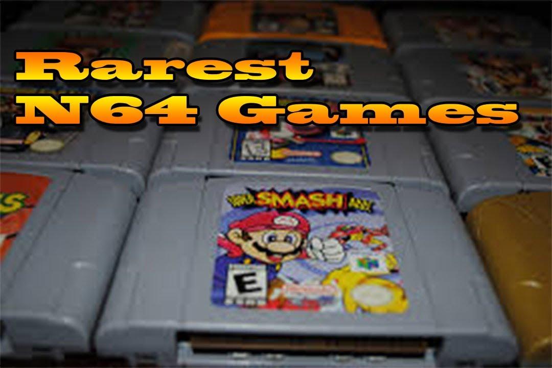 old nintendo 64 games
