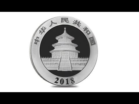 2018 Chinese Panda Coin Design