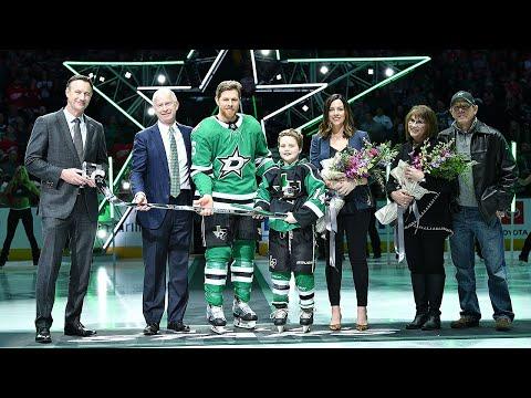 Stars Celebrate Joe Pavelski For 1,000th NHL Game