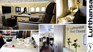 The beautiful and classy Lufthansa First Class has been a cabin tha...