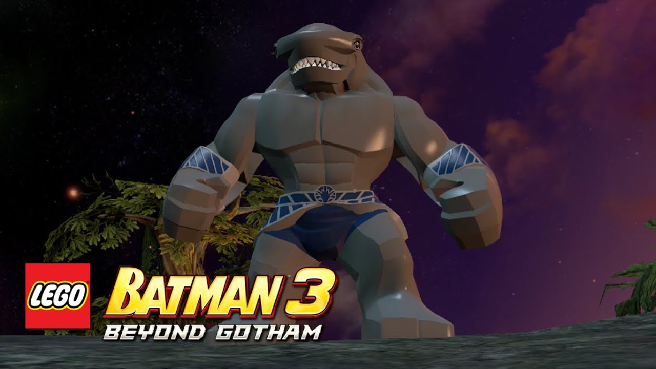 LEGO Batman 3 Beyond Gotham King Shark Okaara Free Roam