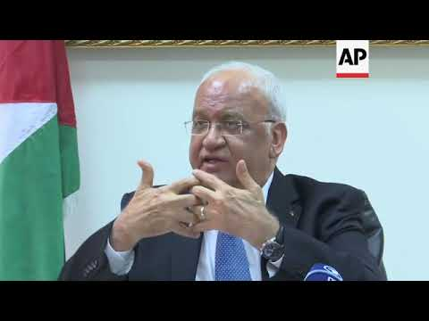 Erekat: US and Israeli policy towards Palestinians is madness