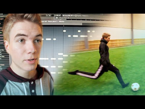 Day in the Life of Hazardous: #1 - Insane Football Shot & Music Making!