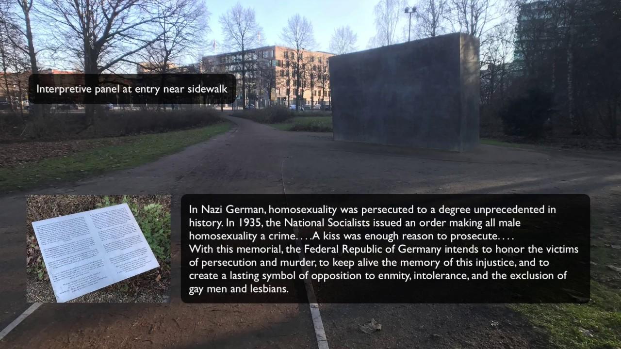 Berlin memorial homosexual statistics