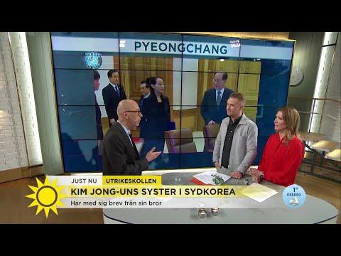 """Stefan Borg om Kim Jong Uns syster: """"Det här är helt unikt"""" - Nyhetsmorgon (TV4)"""