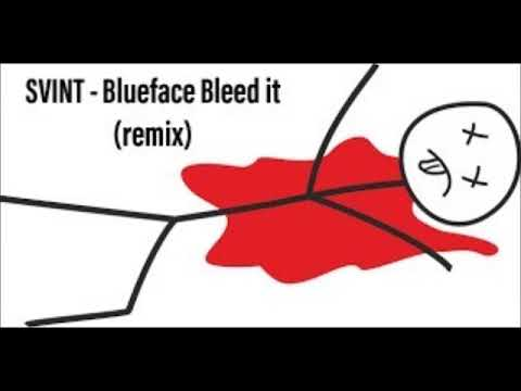 SVINT - Blueface Bleed It Instrumental Freestyle