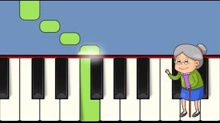5 Очень простые детские песенки для детей на фортепиано для начинающих том 2