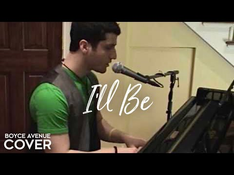 Edwin McCain - I'll Be (Boyce Avenue piano acoustic cover) on Spotify & Apple