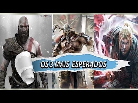 God Of War 5 For Honor e Nioh Confira os 3 jogos de Espada mais aguardados para