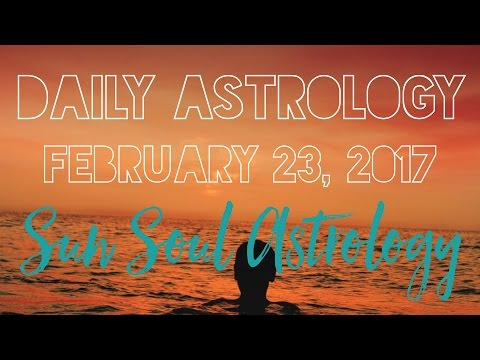 Daily Quantum Astrology February 23 2017 The Cosmic Goodwill