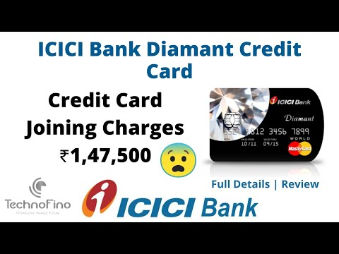 ICICI Diamant Credit Card Benefits | Joining Charges ₹147500 😱 | Expensive Luxury Credit Card 🔥🔥🔥