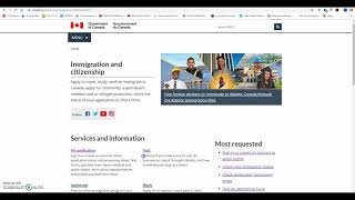 Kanada Vizesi Online Başvuru Nasıl Yapılır -1 bölüm