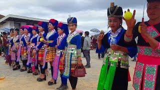 2017 -18 Noj pebcaug Xeev Khuam hnub xiab 4. Hmong Lao New Year.