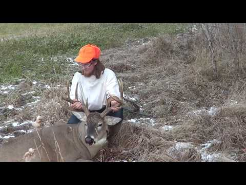 A Big Saskatchewan 8 Point Whitetail Buck