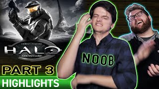 Noob CANNOT Beat Halo Level  |  HALO Ep 03