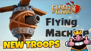 Clash Of Clans UPCOMING NEW TROOPS | CONCEPT /IDEA 2018 | Clash Royale | Quitable Gamer (Hindi)