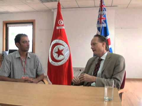 Interview with MR Chris O'Connor the British amabassador To Tunisia