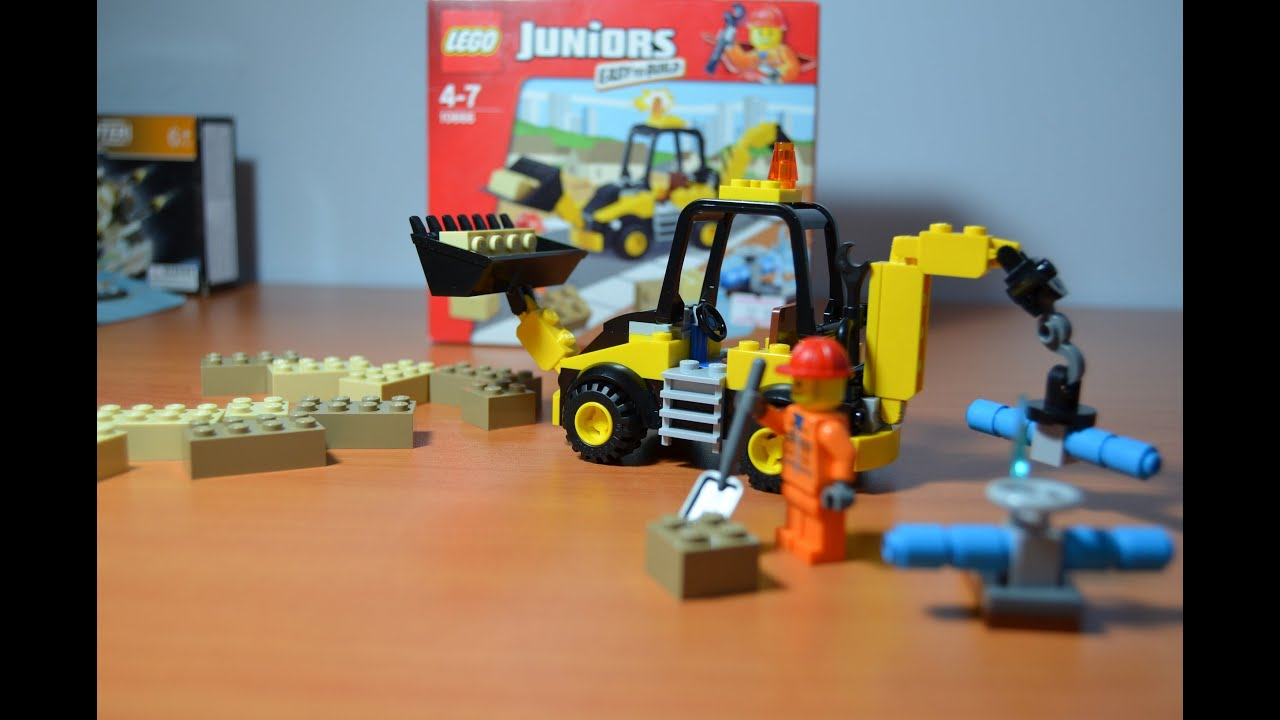 Build A Lego Digger