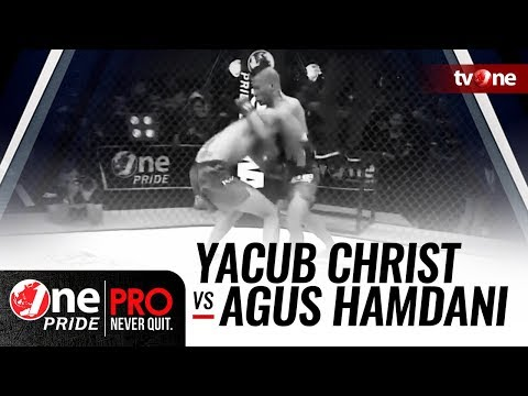 [Full HD] Yacub Christ vs Agus Hamdani   One Pride MMA #13