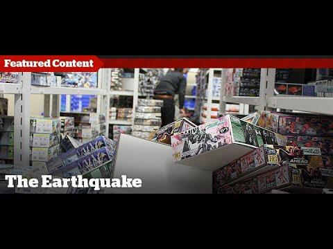 HobbyLink Japan - Earthquake Footage
