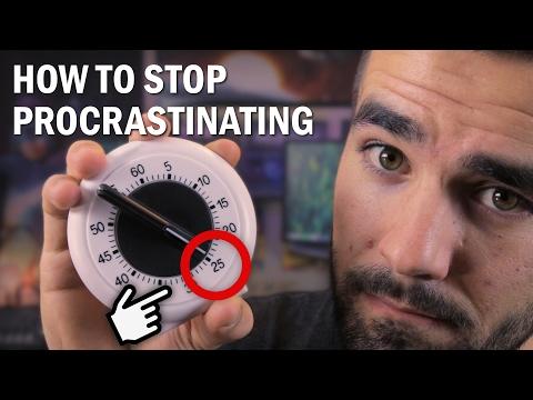 How to Stop Procrastinating: The Pomodoro Technique