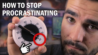 My #1 Method for Stopping Procrastination