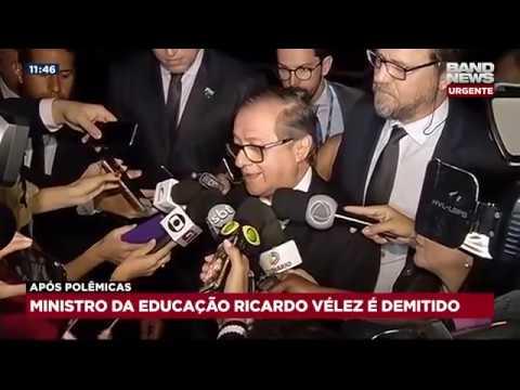 Ministro da Educação é demitido