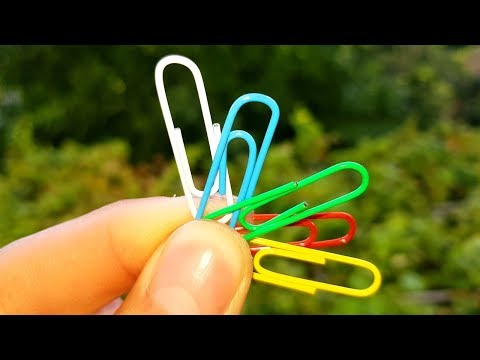 WOW! 8 Paper Clips Life Hacks
