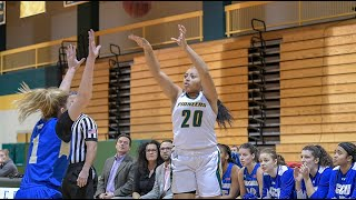 Women's Basketball Hits 14 Three-Pointers During Win Against Roberts Wesleyan