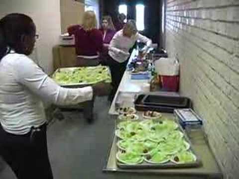 Handley School Valentine Lunch