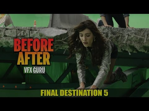 Final Destination 5 2011  Behind The Bridge Scene  BeforeAfter Visual Effects