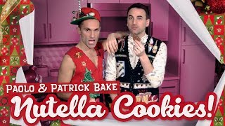 Baking NUTELLA COOKIES with Paolo & Patrick