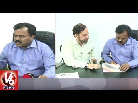 Water Board MD Dhana Kishore Takes Charge As Minority Welfare Secretary | Hyderabad | V6 News