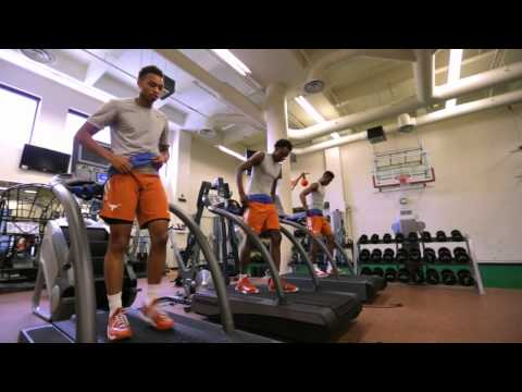 LHN All Access: Men's Basketball freshmen training [Aug. 11, 2015]