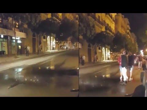Extraño fenómeno hace caer lluvia sobre un metro cuadrado en Italia