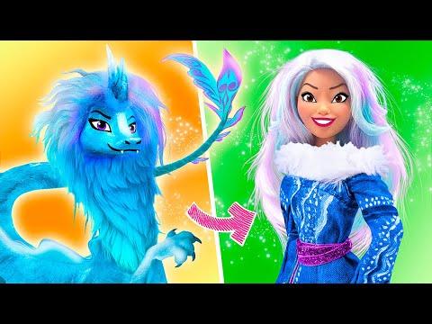 Райя и последний дракон - 10 идей для кукол Барби