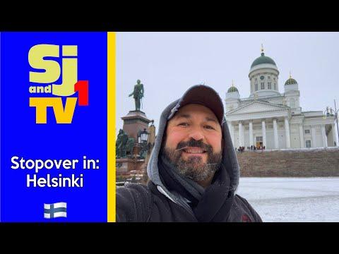 24 Hour Stopover in Helsinki
