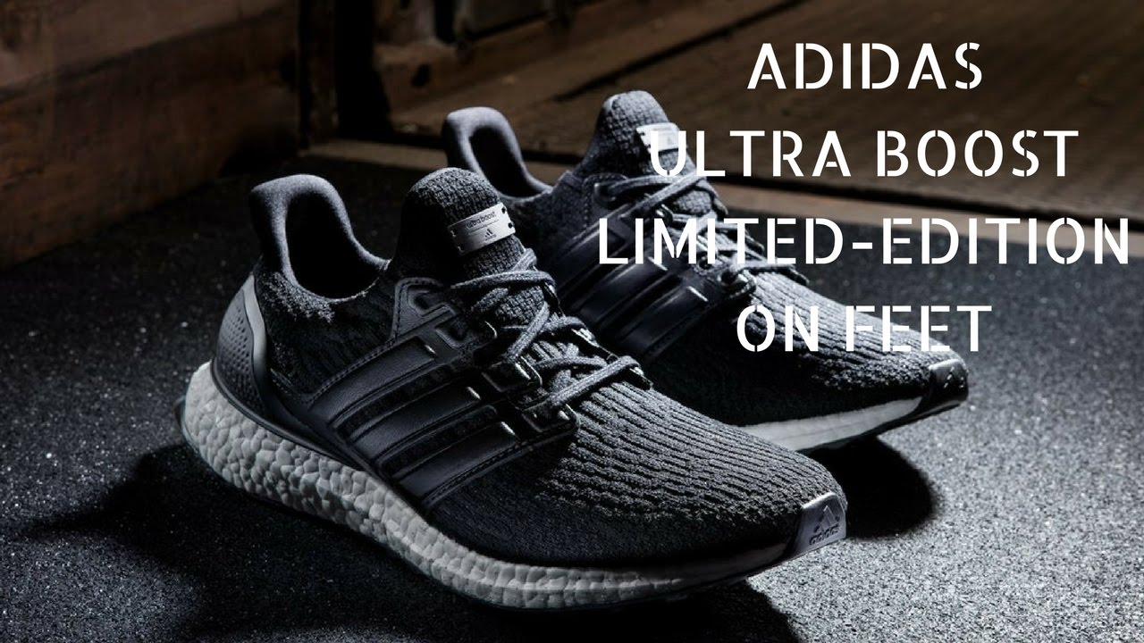 Adidas Ultra Boost 3 0 Limited Edition Black Leather Cage