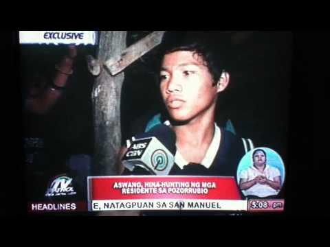 Aswang in Pozorrubio, Pangasinan?