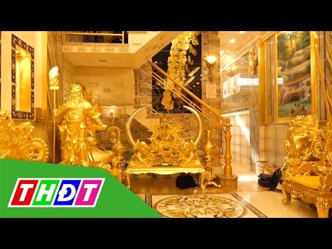 Choáng ngợp ngôi nhà dát vàng độc nhất vô nhị ở miền Tây | THDT