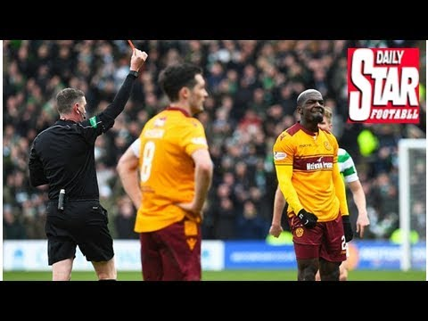 Motherwell boss Stephen Robinson takes aim at referee