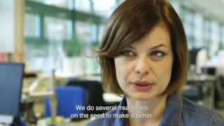 TU Delft - Meet our alumni – Marta: from PhD To polymer specialist in NL