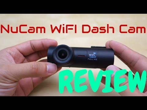 NuCam A712W Stealth WiFI Dash Cam REVIEW
