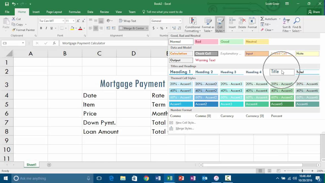 Microsoft Excel - APP104 - Chapter 4 - Office 365